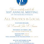 31st Annual Meeting