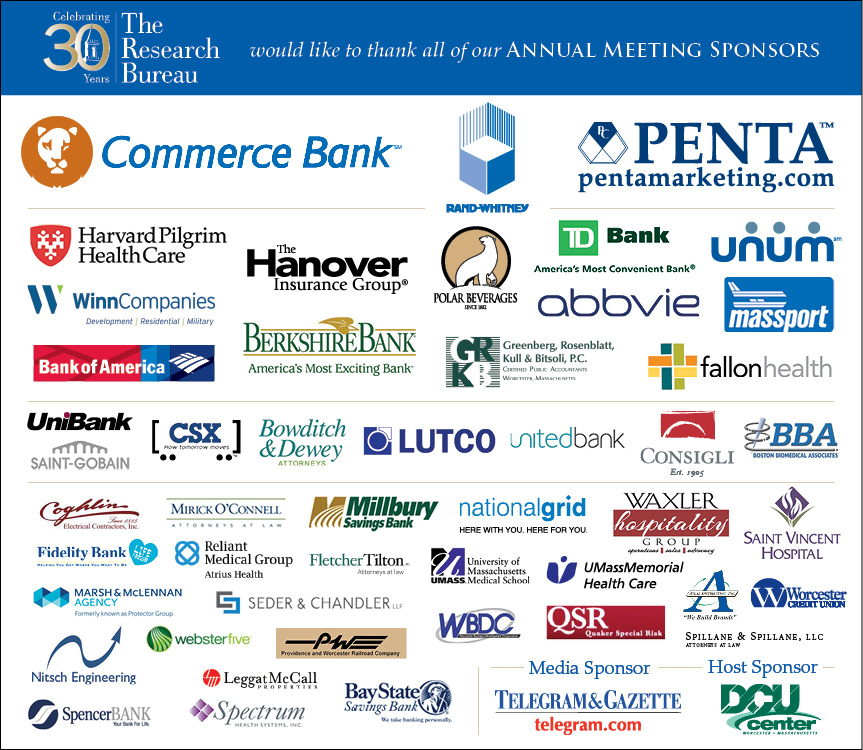 Thank You to Our Generous Sponsors - 30th Annual Meeting
