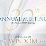 WRRB 30th Annual Meeting