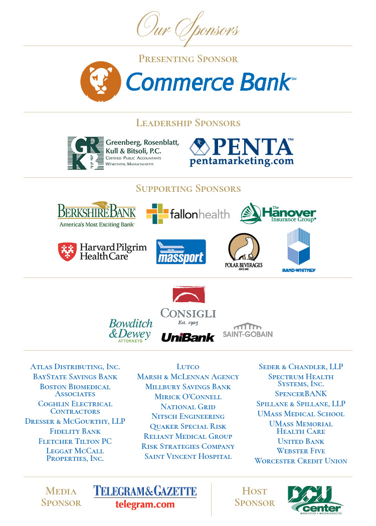 Thank You to Our Generous Sponsors - 31st Annual Meeting
