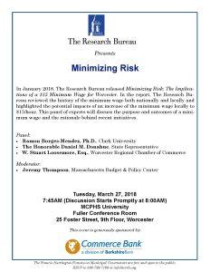 Minimizing Risk - Event Forum