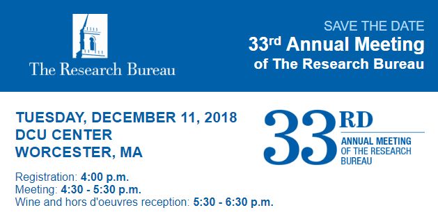 33rd Annual Meeting - Save the Date