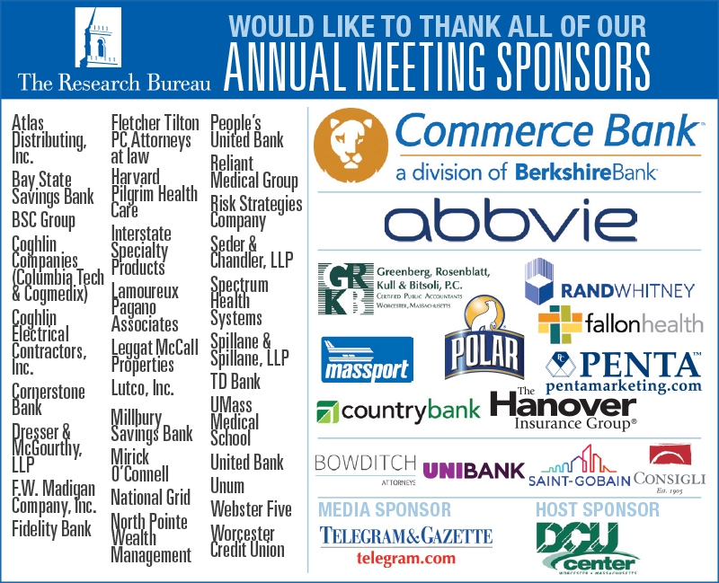 33rd Annual Meeting - Thank you to our sponsors