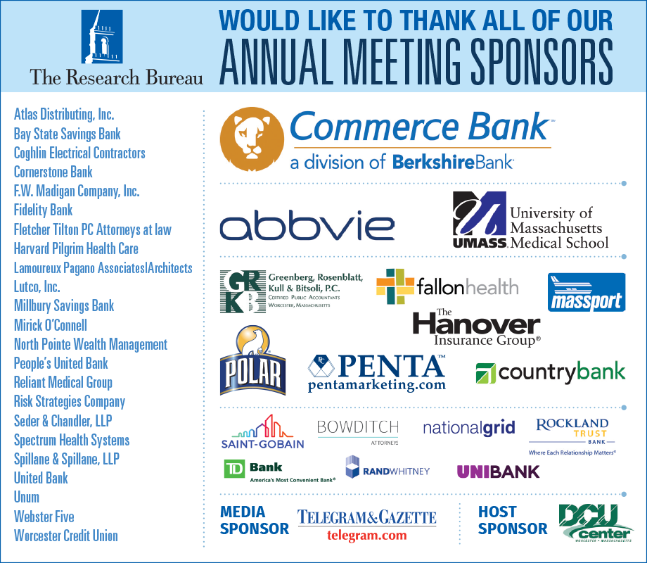 34th Annual Meeting - Thank You to Sponsors