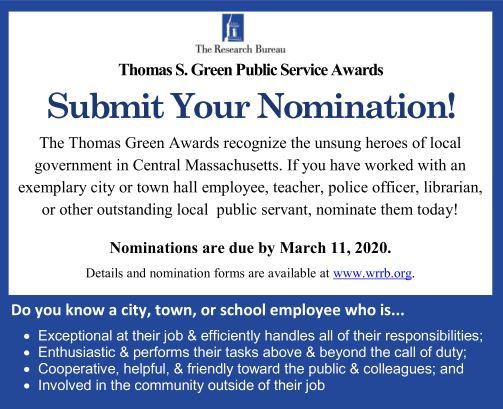TSG Nomination Request Ad
